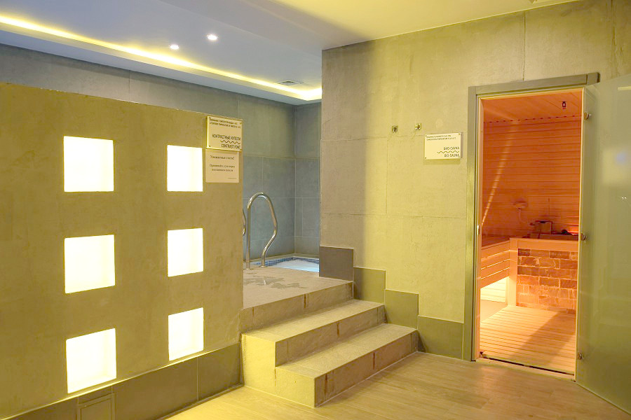 Био-сауна в спа-комплексе Green Flow Hotel