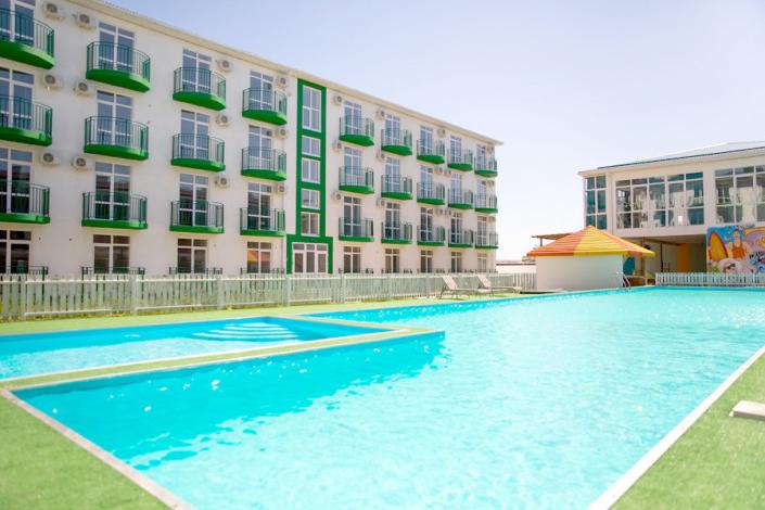 Отель Green Park, Анапа