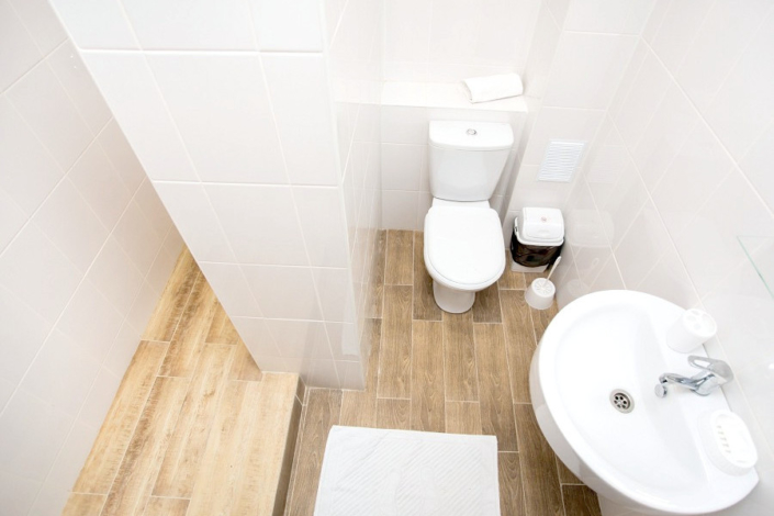 Туалетная комната номера Стандарт отеля Green Park
