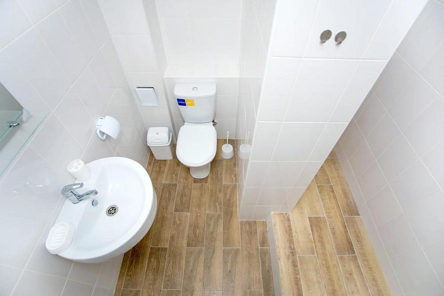 Туалетная комната номера Супериор отеля Green Park