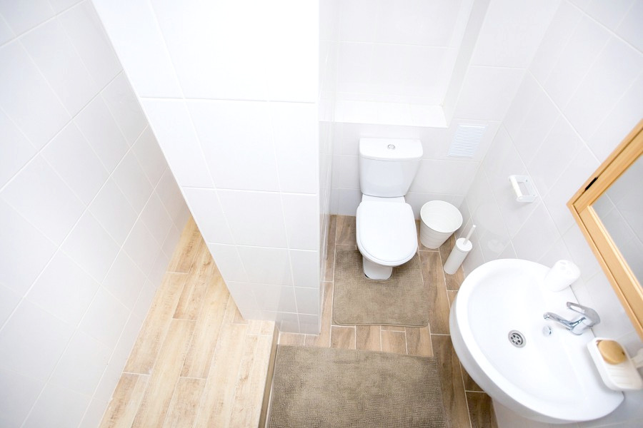 Туалетная комната номера Сюит отеля Green Park