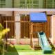 Детская игровая площадка отеля Green Park