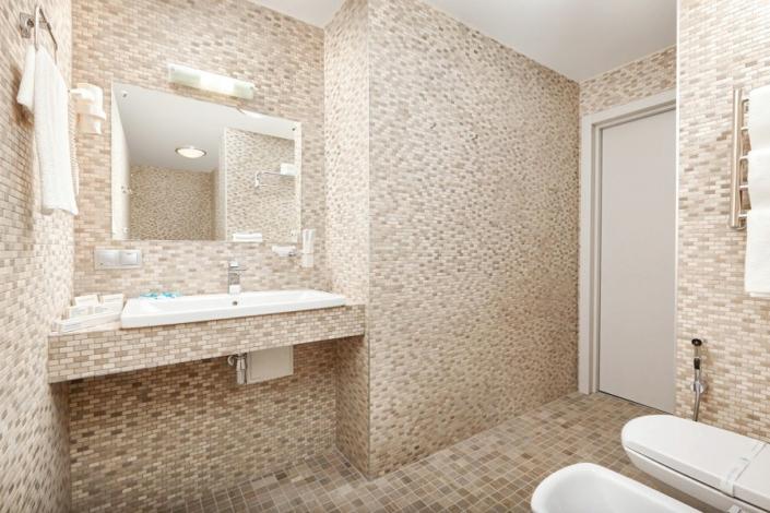 Туалетная комната номера Апартаменты отеля Грин Парк