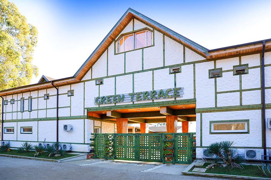 Отель Green Terrace, Абхазия, Новый Афон, Приморское
