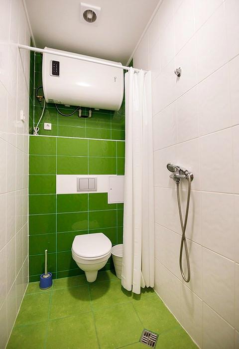 Туалетная комната номера Стандарт отеля Green Terrace