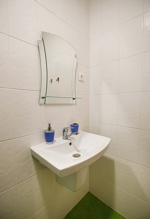 Туалетная комната номера Комфорт отеля Green Terrace