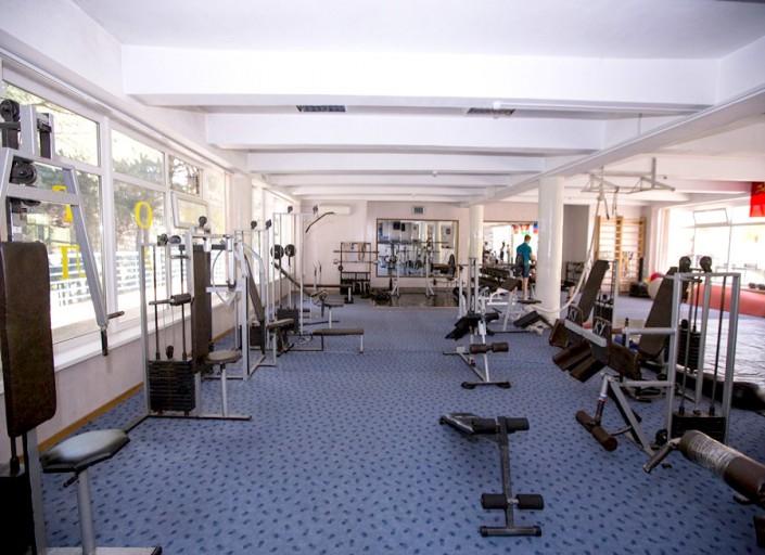 Тренажерный зал пансионата Гренада, Лазаревское, Сочи