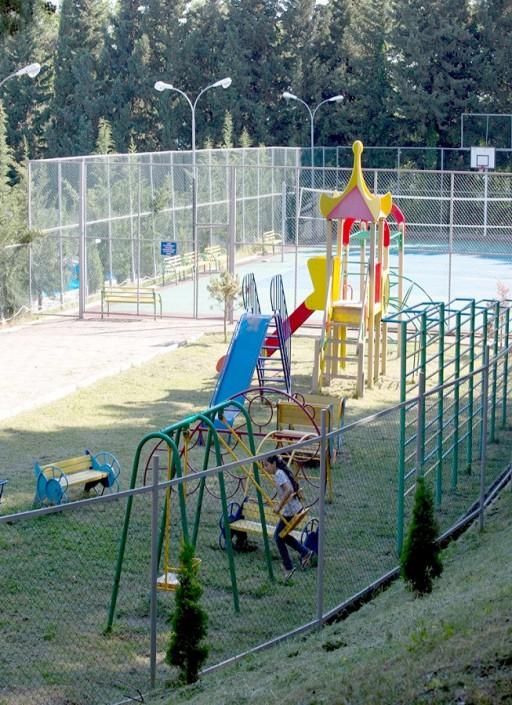 Детская игровая площадка пансионата Гренада, Лазаревское, Сочи