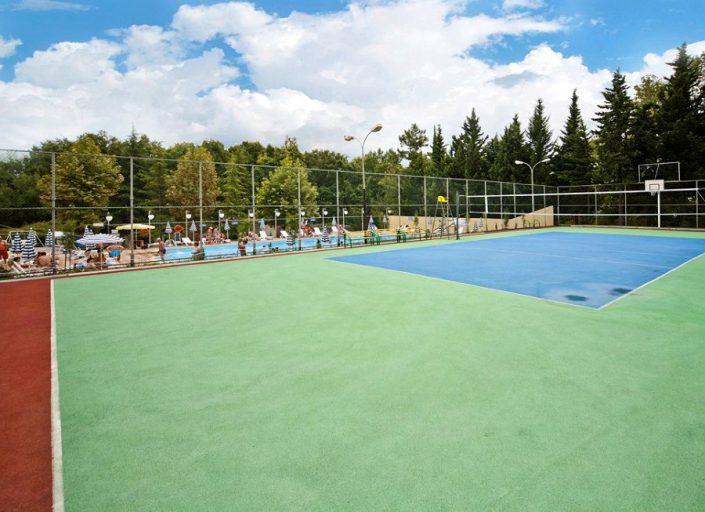Спортивная площадка пансионата Гренада, Лазаревское, Сочи