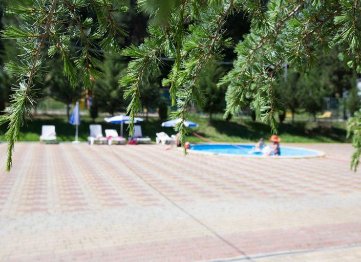 Детский бассейн пансионата Гренада, Лазаревское, Сочи