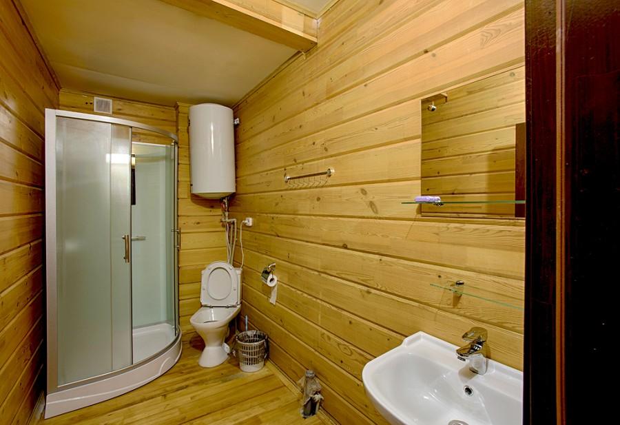 Туалетная комната номера Люкс гостиницы Грифон