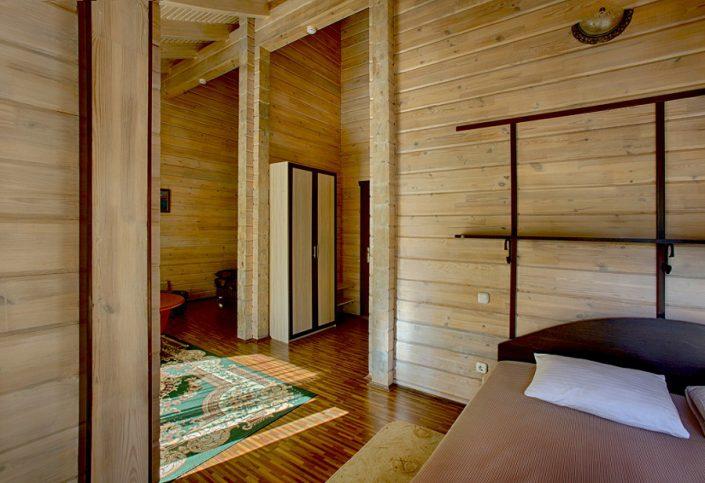 Люкс двухместный двухкомнатный гостиницы Грифон