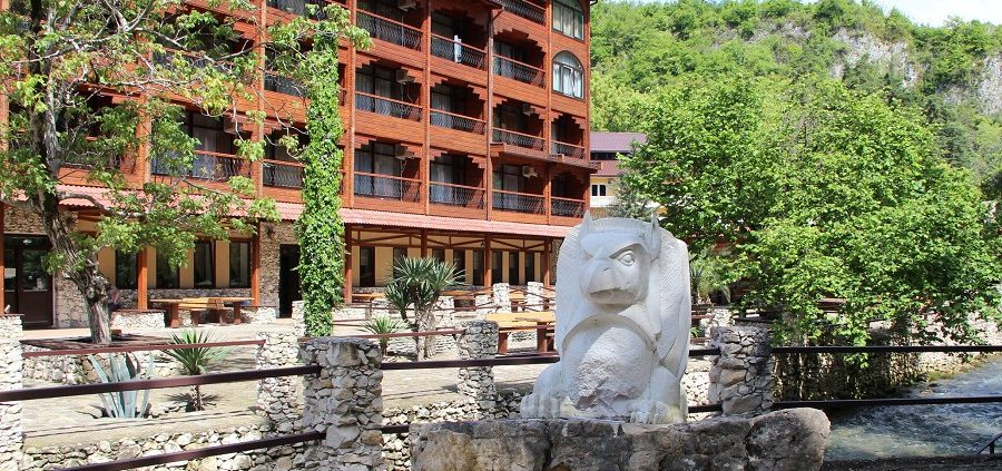 Гостиница Грифон, Новый Афон, Абхазия