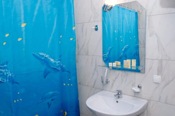 Туалетная комната Стандартного номера пансионата Гринцовский