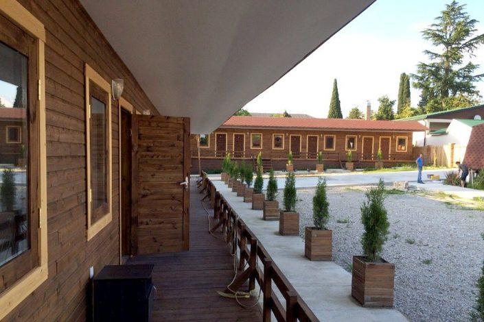 Одноэтажные корпуса комплекса ГудаУта, Абхазия