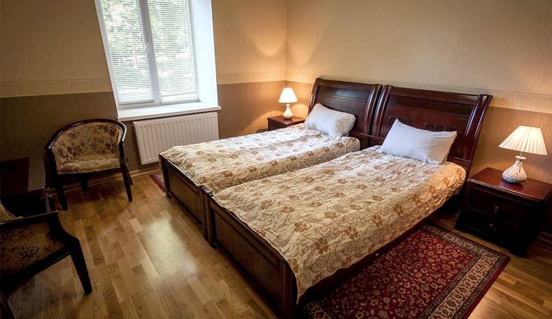 Улучшенный двухместный номер корпус Гагаринский санатория Гурзуфский