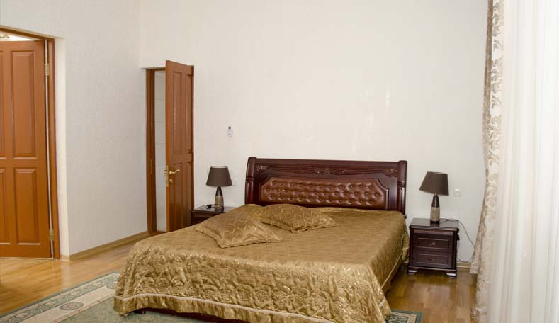 Спальня в корпусе Климатопавельон санатория Гурзуфский