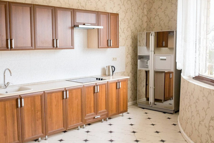 Апартаменты Премиум с кухней шестиместные пятикомнатные апарт-отеля Holiday