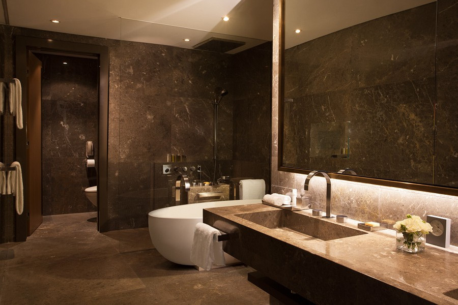 Ванная комната в номере отеля Hyatt Regency Sochi