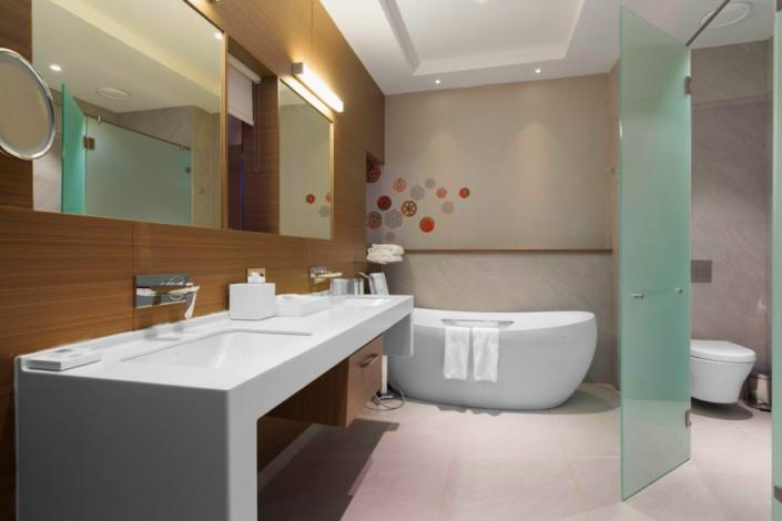 Туалетная комната Стандартного номера отеля Ibis Styles Krasnaya Polyana