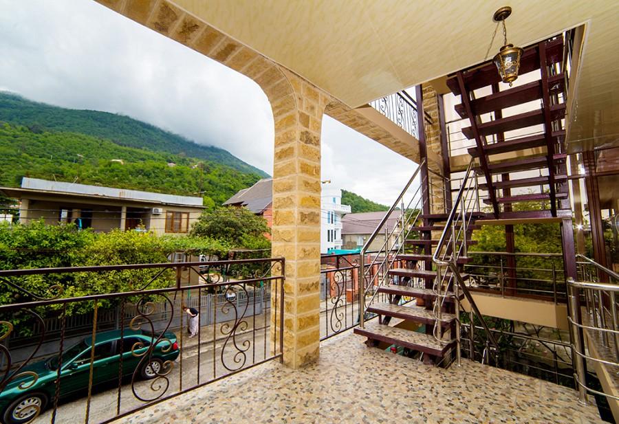 Отель Илиос, Гагра, Абхазия