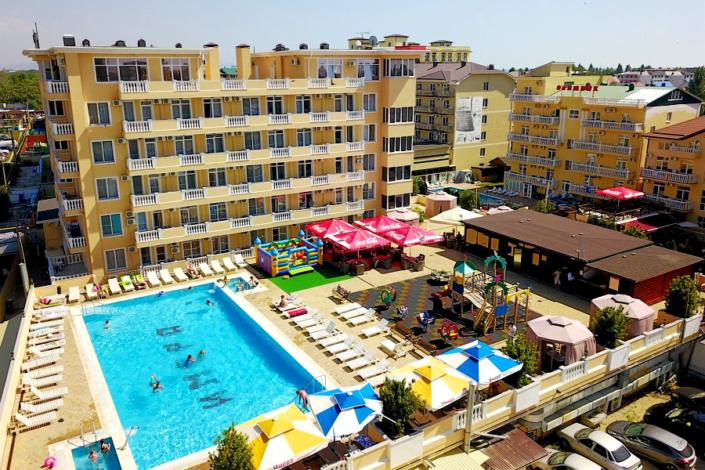 Отель Имера, Витязево, Анапа