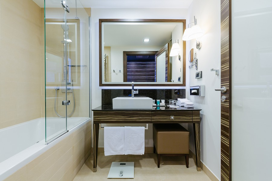 Ванная комната Стандартного номера отеля Имеретинский
