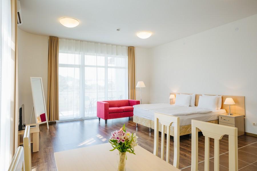 1-комнатные апартаменты в Заповедном квартале отеля Имеретинский