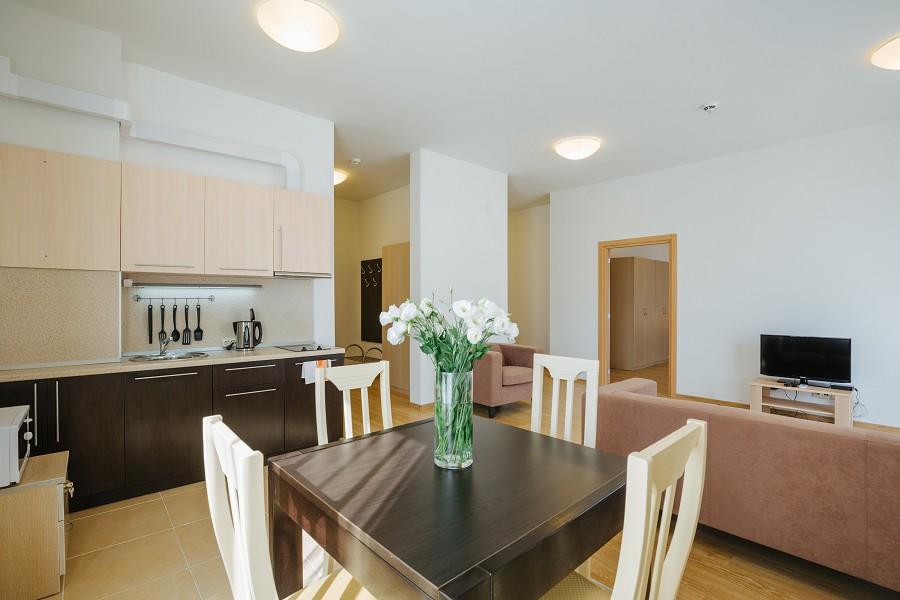 2-х комнатные апартаменты в Заповедном квартале отеля Имеретинский