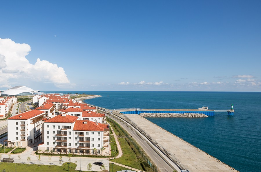 Морской квартал отеля Имеретинский