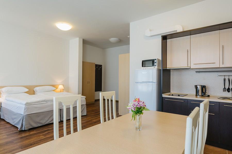 1-комнатные апартаменты в Морском квартале отеля Имеретинский