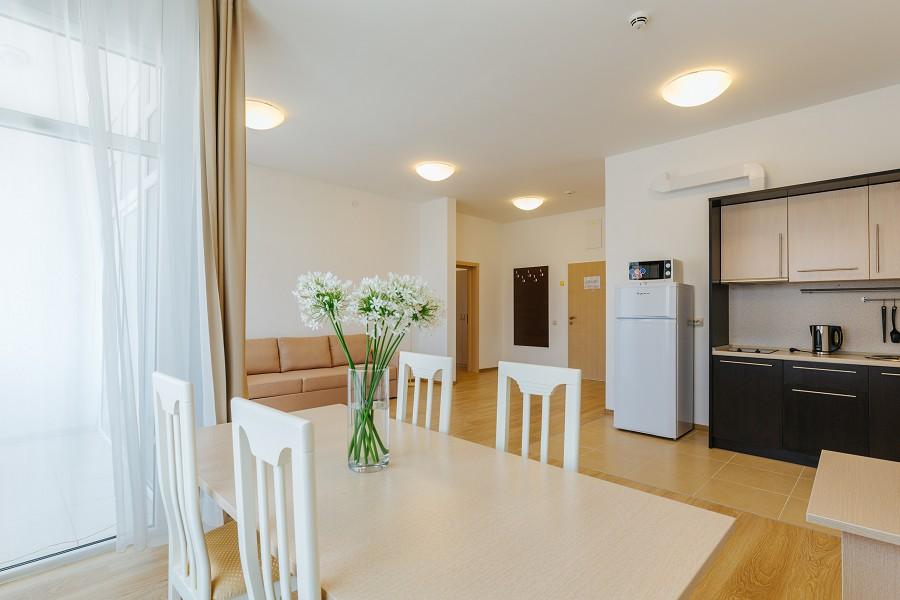 2-х комнатные апартаменты в Морском квартале отеля Имеретинский