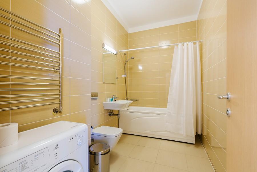 Ванная комната в апартаментах Морского квартала отеля Имеретинский