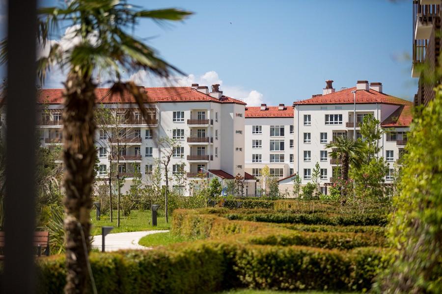 Парковый квартал отеля Имеретинский