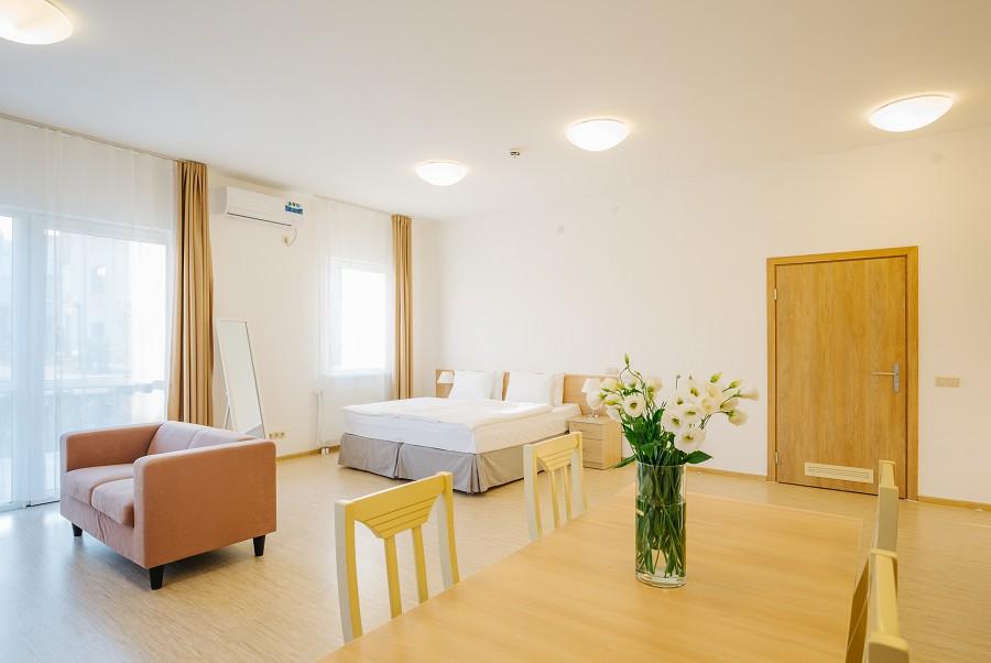 1-комнатные апартаменты в Парковом квартале отеля Имеретинский