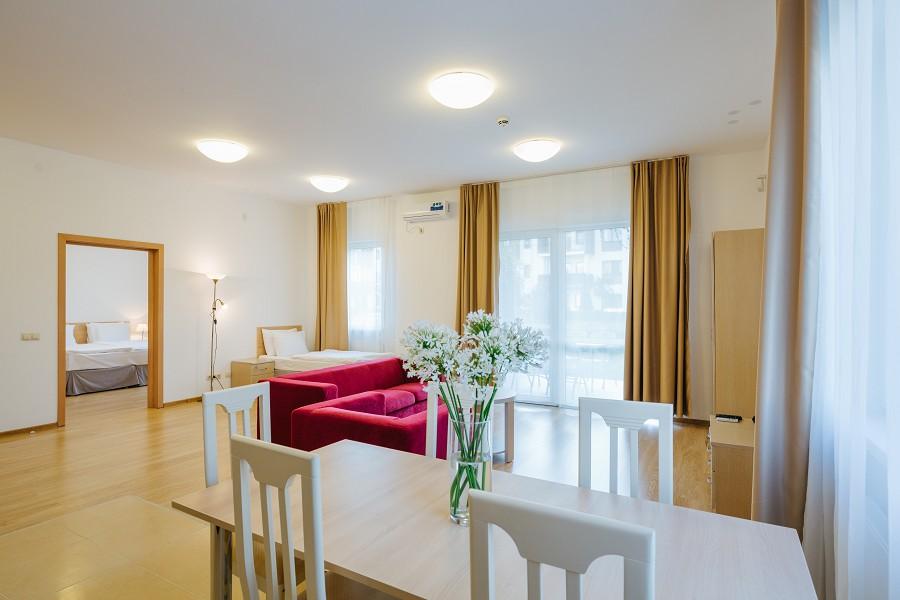 2-х комнатные апартаменты в Парковом квартале отеля Имеретинский
