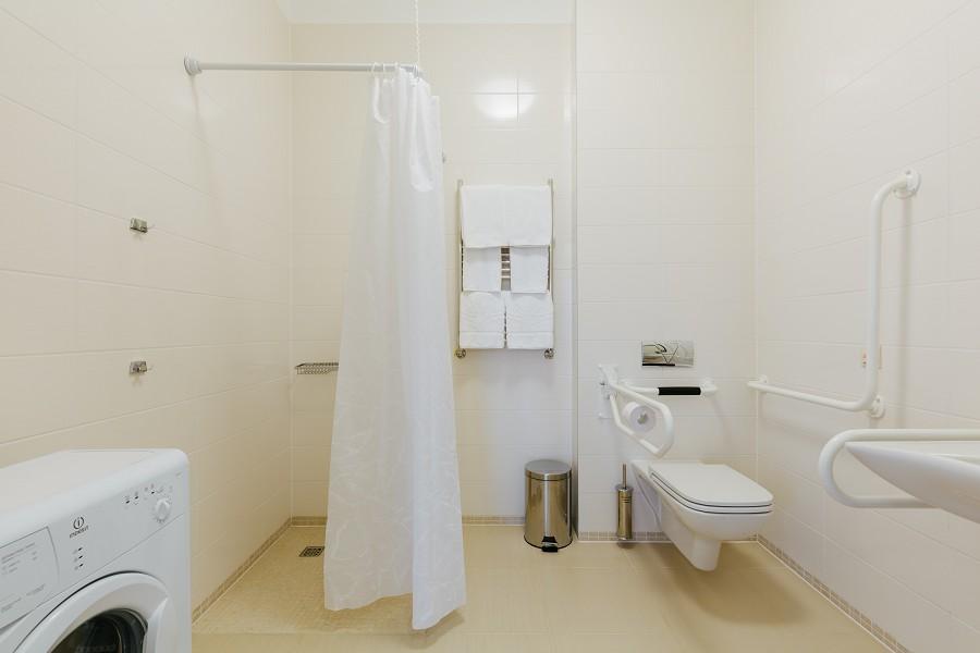 Ванная комната в апартаментах Паркового квартала отеля Имеретинский