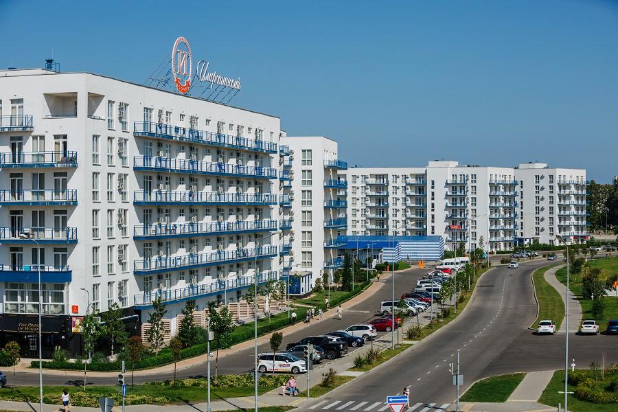Прибрежный квартал отеля Имеретинский