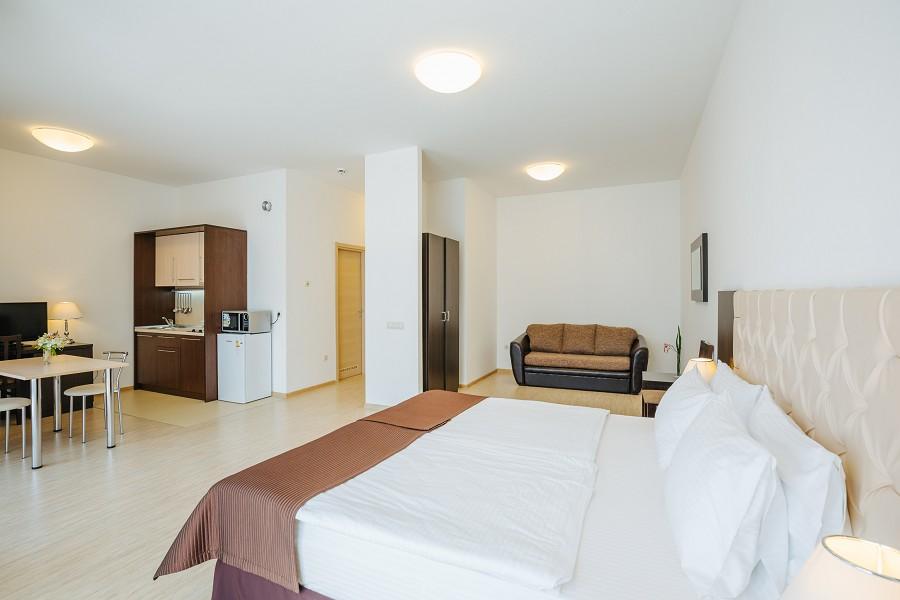 1-комнатные апартаменты в Прибрежном квартале отеля Имеретинский