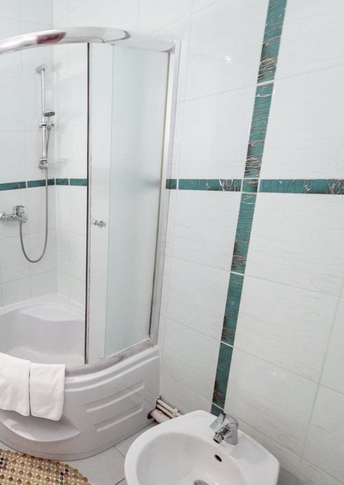 Туалетная комната номера Апартаменты в СОК Империя