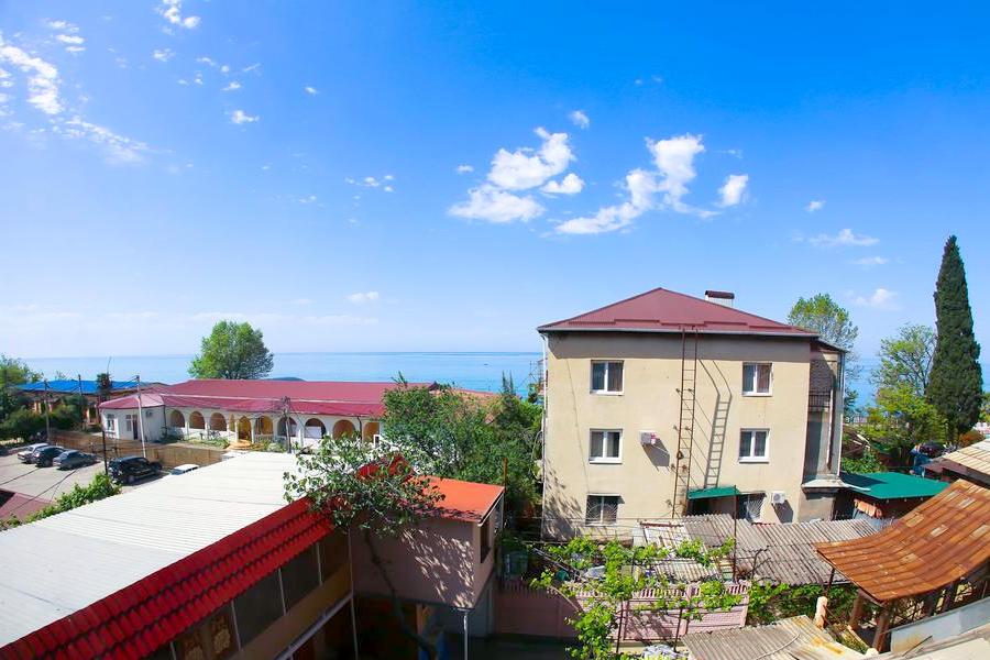 Вид на море из номера отеля Индисан