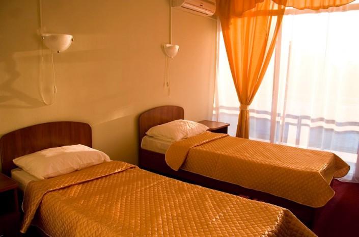 Стандартный двухместный номер гостиницы Интер-Сухум, Абхазия