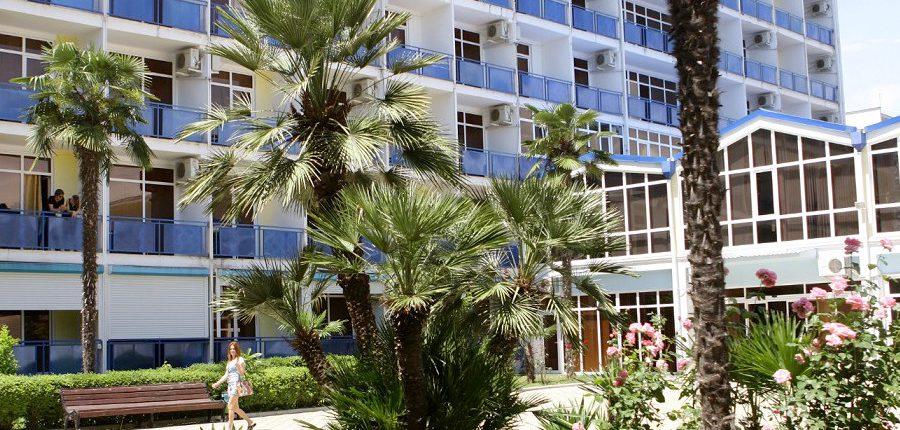 Гостиница Интер-Сухум, Абхазия