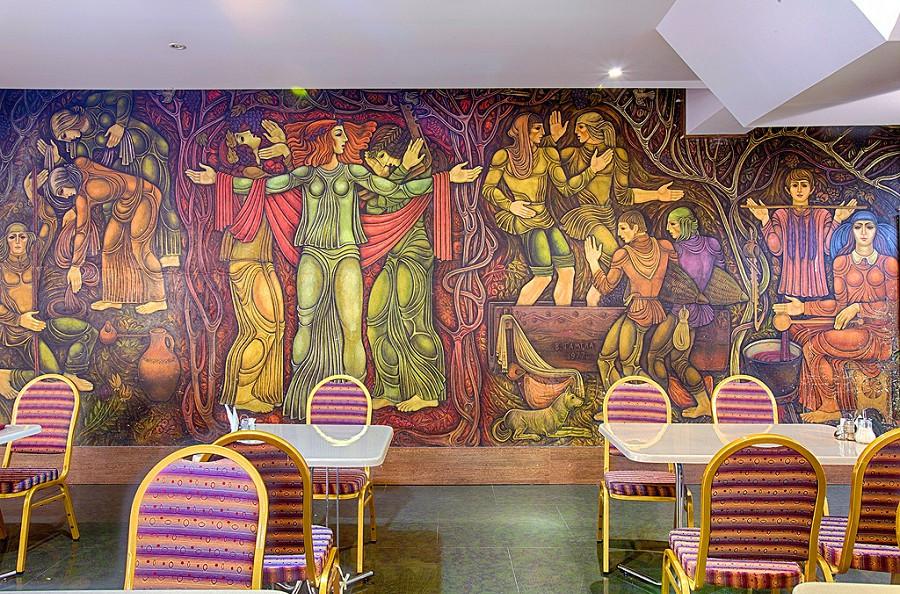Столовая гостиницы Интер-Сухум, Абхазия