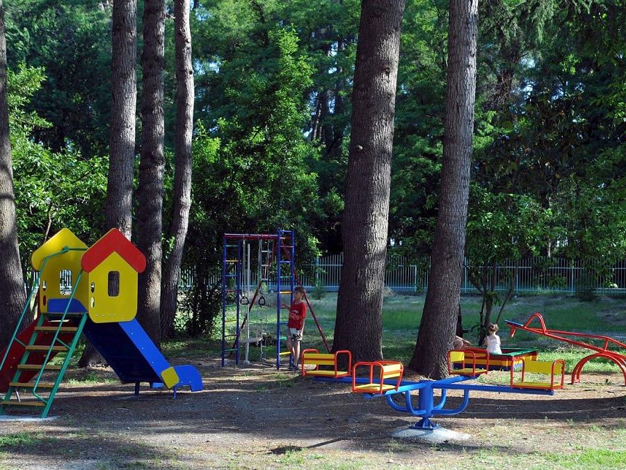 Детская игровая площадка пансионата Ирэн