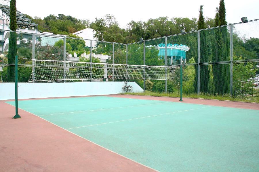 Спортивная площадка санатория Ивушка