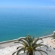 Вид на море с балкона номера пансионата Кавказ, Гагра, Абхазия