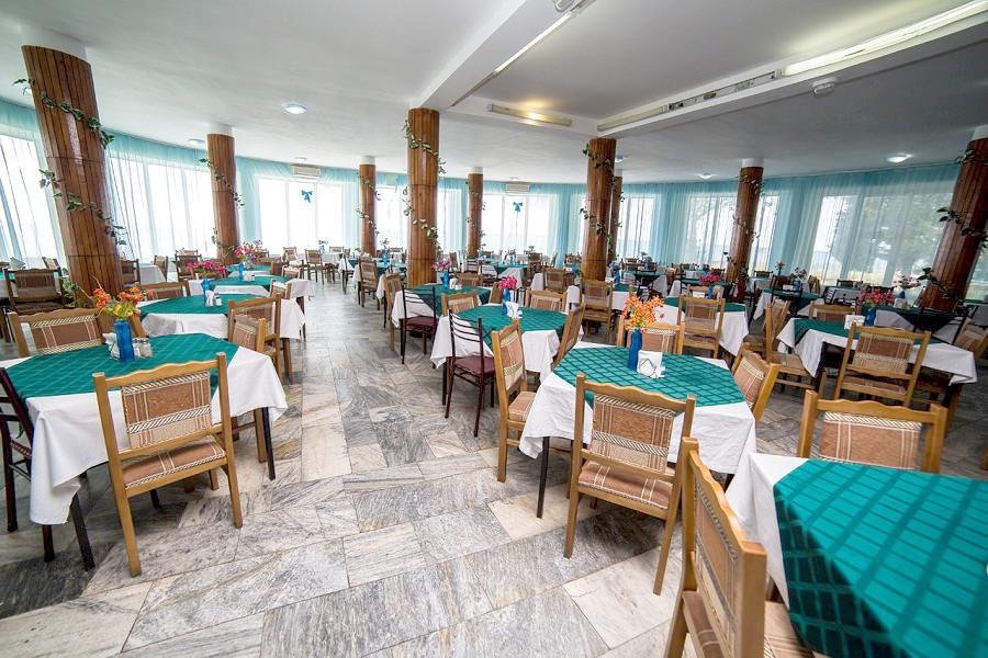 Столовая пансионата Кавказ, Гагра, Абхазия