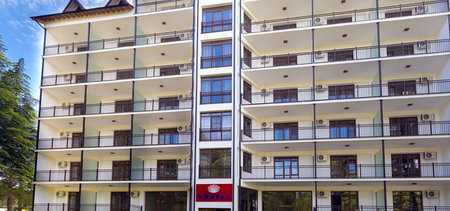 Отель Киараз Арена, Пицунда, Абхазия