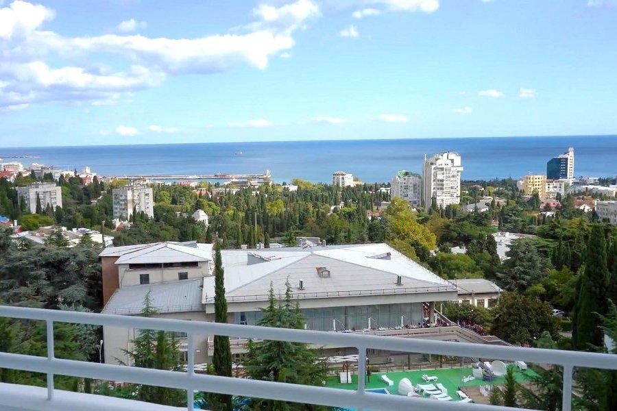 Вид с балкона номера Престиж санатория им. Кирова
